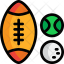 Sport Balls Sports Equipment Icon