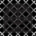 Sport Ball Basket Icon