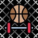Sport Dumbbell Fitness Icon