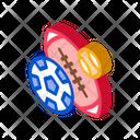 Football Rugby Baseball Icon