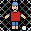 Sport Man Boy Icon