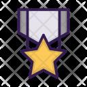 Sport Star Medal Icon