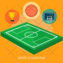 Sport Is Medicine Icon