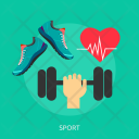 Sport Hand Fitness Icon