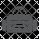 Sport Fitness Bag Icon