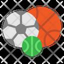 Sport Football Basketball Icon
