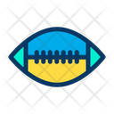 Rugby Ball American Football Icon