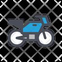 Sport Bike Bike Race Icon