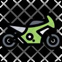 Sport Bike Vehicle Icon