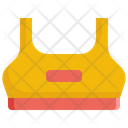 Sport Bra Cloth Icon