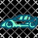 Sport Car Car Racing Icon