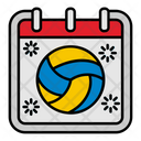Sport Volley Ball Icon