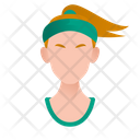 Sport Girl Icon