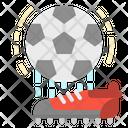 Football Stadium Place Icon