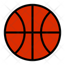 Sport Items Basketball Online Shopping Icon