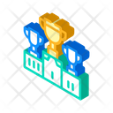 Sport Competition Isometric Icon