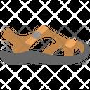 Sport sandals Icon