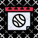 Calendar Date Sport Icon