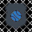 Sport Shield Badge Icon