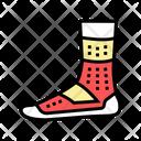 Sport Sock Color Icon