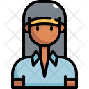 Sport Woman User Icon