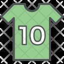 Sports Shirt Player Icon
