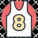 Sports Vest Wear Icon