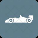 Sports Car Racing Icon
