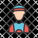 Sports Man Avatar Icon