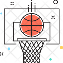 Sports Backboard Basketball Icon