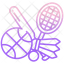 Sports Game Badminton Icon