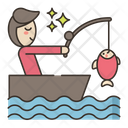 Sports And Activities Fishing Fish Icon