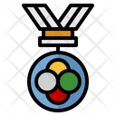Sports And Competition Medal Victory Icon