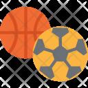 Sports Football Basketball Icon