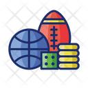 Sports Betting Sports Ball Sports Gamling Icon
