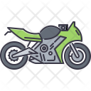 Bike Sport Motorcycle Icon