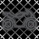 Sportbike Transport Motorbike Icon