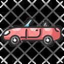 Sports Car Car Travel Icon