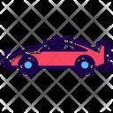 Sports Car Transport Vehicle Icon