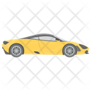 Racing Car Automobile Coupes Icon