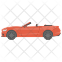 Cabriolet Convertible Car Vehicle Icon