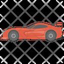 Sports Car Racing Car Vehicle Icon