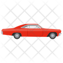 Sports Car Car Transport Icon