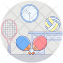 Sports Equipment Olympic Volleyball Ball Icon
