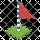Winner Goalpost Sports Flag Icon