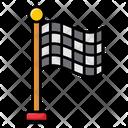 Sports Flag Banner Sports Emblem Icon