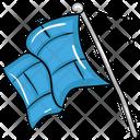 Sports Flag Emblem Insignia Icon