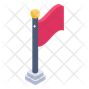 Sports Flag Game Banner Emblem Icon