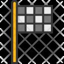 Sports Flag Ensign Icon