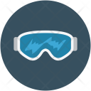 Sports Glasses Goggles Icon